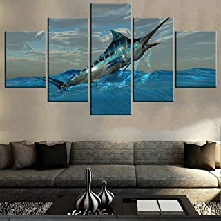 Best marlin fish painting Reviews