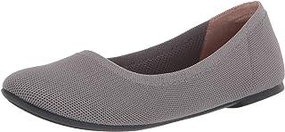 Amazon Essentials Knit Ballet Flat, Grigio Chiaro, 40 EU