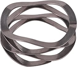 Multiwave Washers,JW095-089-082,C037-M5,LW 038 07 0350S,Inch,0.25ID,0.375OD,0.011Thick,Material width0.032,7 Turns,Free height0.35,47 LBS//in Spring Rate,7 LBS Load @ 0.202Working Height