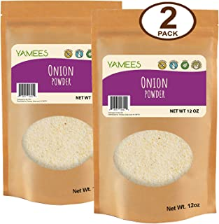 Yamees Onion Powder – Onion Powder Bulk – Bulk Spices - 2 Pack of 12 Ounce Each