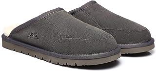 UGG Slippers Australian Soft Sheepskin Winter Home Cozy Men's Slipper Bred Shoes