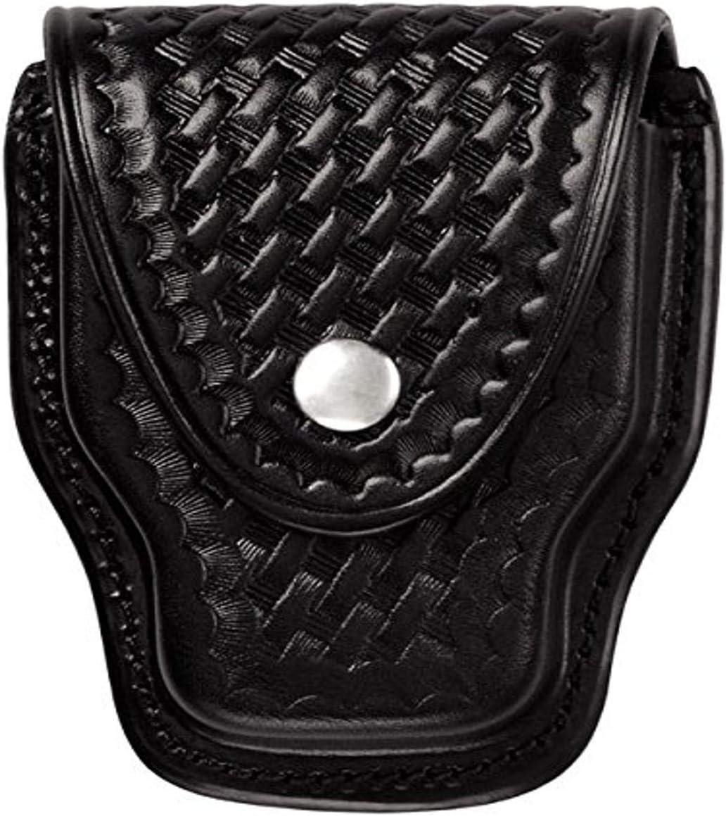 Triple K Brand Hinged Handcuff Carrier Black