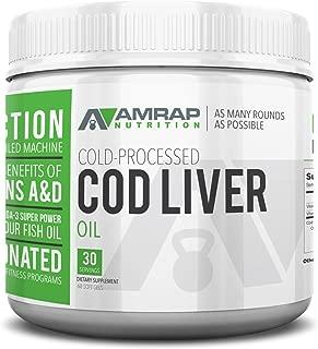 AMRAP Nutrition Fermented Norwegian Cod Liver Oil