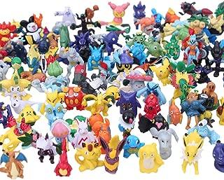 AngryMan 144 poupées Poche Mignon Mini Figures 2-3cm Jouets Action Figurines