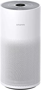 smartmi HEPA Air Purifiers for Home Large Room Bedroom, Works with Alexa, H13 True HEPA Filter, Remove Odor Pet Smoke Dust TVOC Pollen PM2.5, Smart Quiet Air Cleaner, Voice Gesture Control