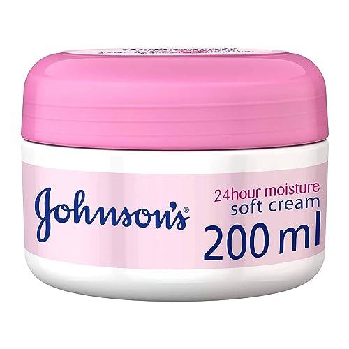 Johnson's 24 Hour Moisture Soft Cream, 200ml