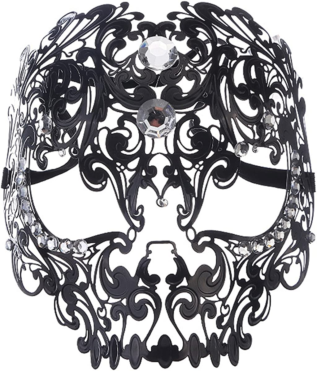 Masquerade Mask Mardi Gras Costume Metal Cosplay Popular products Excellence Christmas