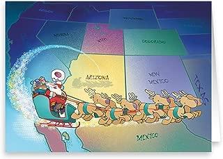 Arizona Christmas Card - 18 Arizona Theme Boxed Christmas Cards (Standard)