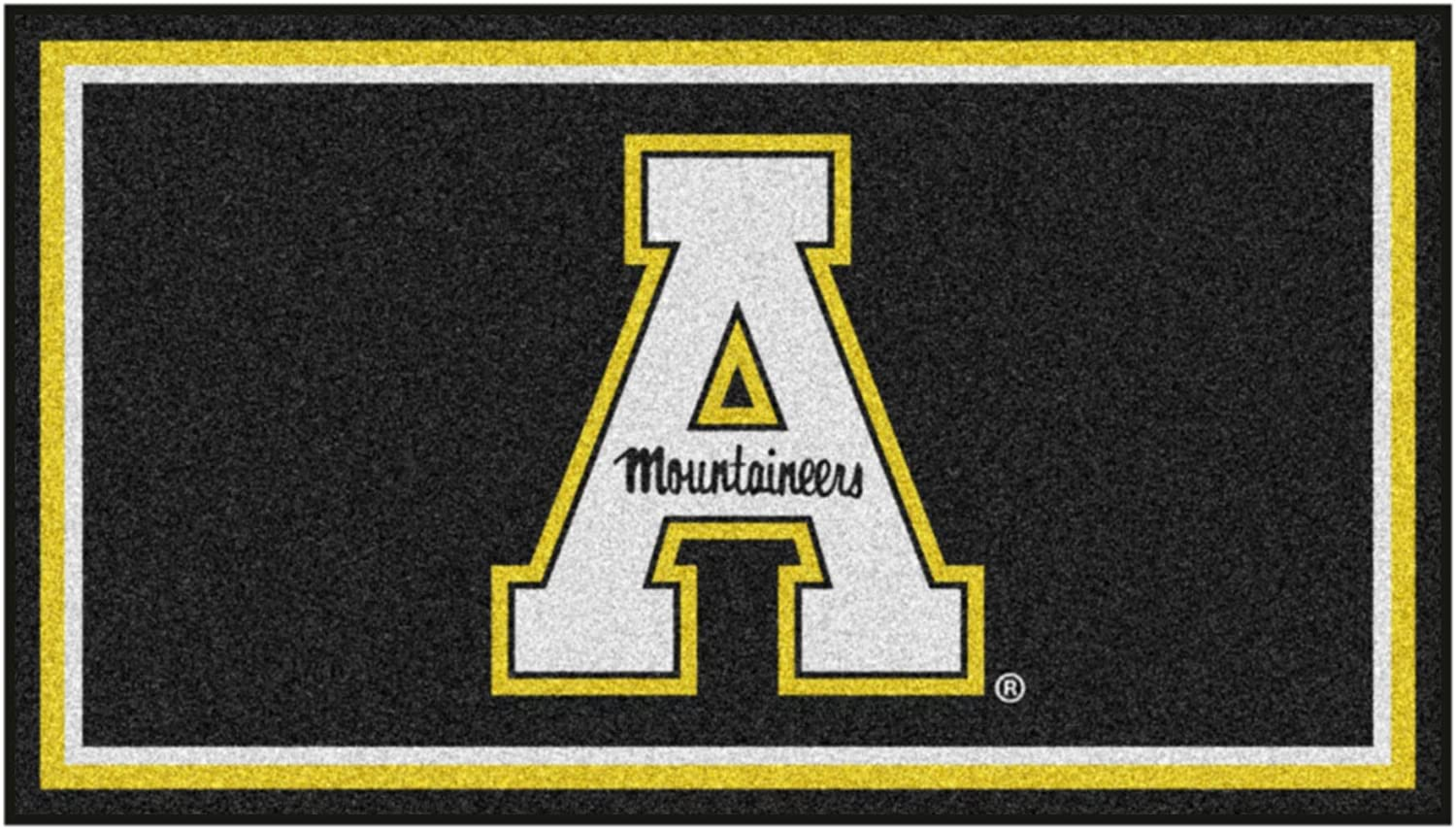 Appalachian State University 3ft. Selling rankings x Rug Plush Area 5ft. Special Campaign