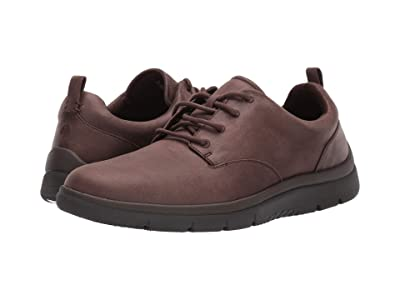 Clarks Tunsil Lane (Brown Synthetic) Men