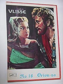 ユリシーズ 1955年映画パンフレット オリオン座 カーク・ダグラス シルヴァーナ・マンガーノ アンソニー・クイン ロッサナ・ポディスタ