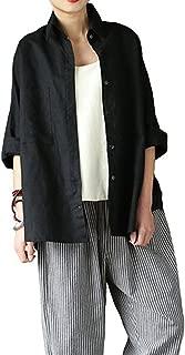Best black linen jacket womens Reviews