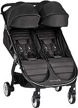 Baby Jogger City Tour 2 Doble Jet - Cochecito gemelar desde nacimiento. Color negro