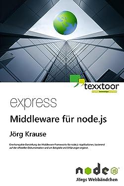 express - Middleware für node.js (German Edition)
