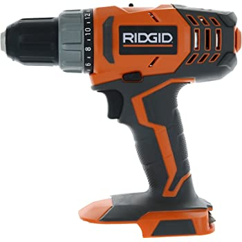 RIDGID R860052 18-Volt Lithium-Ion 1/2 in. Cordless Compact Drill/Driver (Bare Tool Only - Battery and Charger Not Included)