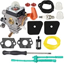 Hayskill C1Q-S174 C1Q-S131 Carburetor Tune Up Kit for Stihl FS87 FS90 FS100 FS110 FS130 HL90 HL95 HL100 HT100 HT101 KM90 KM100 KM110 SP90 Carb Trimmer Replace 4180 120 0604 4180 120 0611