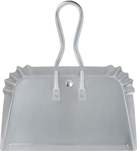 "wholesale Quickie 428 Aluminum new arrival Dustpan 17"" Heavy sale Duty Precision Edge for Outdoor/Indoor outlet online sale"