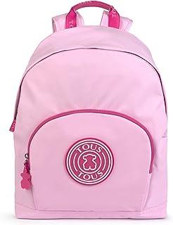 Mochila mediana School rosa