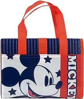 ARDITEX WD12490 Esterilla Plegable c/Asas y cojín Hinchable 75x150cm de Disney-Mickey