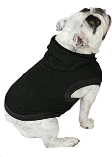 Plus Size Pups English Bulldog Dog Hoodie Tshirt - Beefy Over 8 Colors & Patterns to Choose from