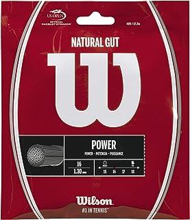 Wilson(ウイルソン) テニス ストリング ガット 錦織圭使用 NATURAL GUT 16 (ナチュラルガット16) [単張り] WRZ999800 ウィルソン
