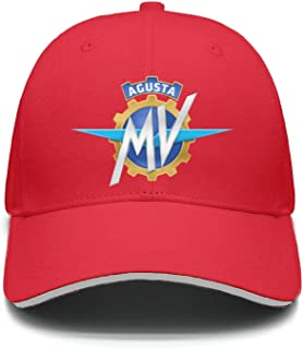 Men Women Adjustable MV-Agusta-Motorcycle-Logo- Trucker Dad Baseball Hats Cap