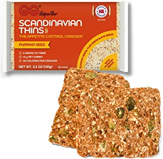 Gg Scandinavian Thins With Pumpkin Seeds - 5 count