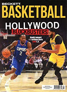 Beckett Basketball Monthly Price Guide Card Magazine December 2019 Hollywood Blockbusters Kawhi Leonard Anthony Davis