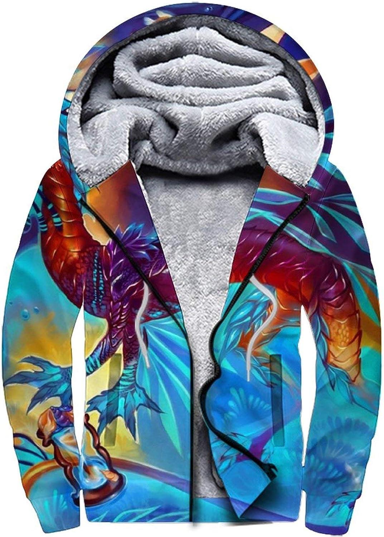 D-WOLVES Men's Hoodies Sweatshirt Fixed price for sale Jacket Winter Fleece trend rank Pullover