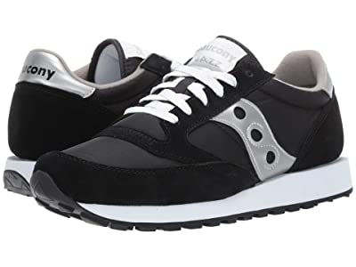 Saucony Originals Jazz Original (Black/Silver) Men