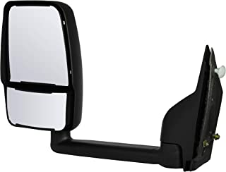 for 2004-2008 Pontiac Grand Prix GM1320279 Black Power Roane Concepts Replacement Left Driver Side Door Mirror Non-Heated