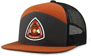 Fly Fishing Reel Colorado Flat Bill Snap Back Hat
