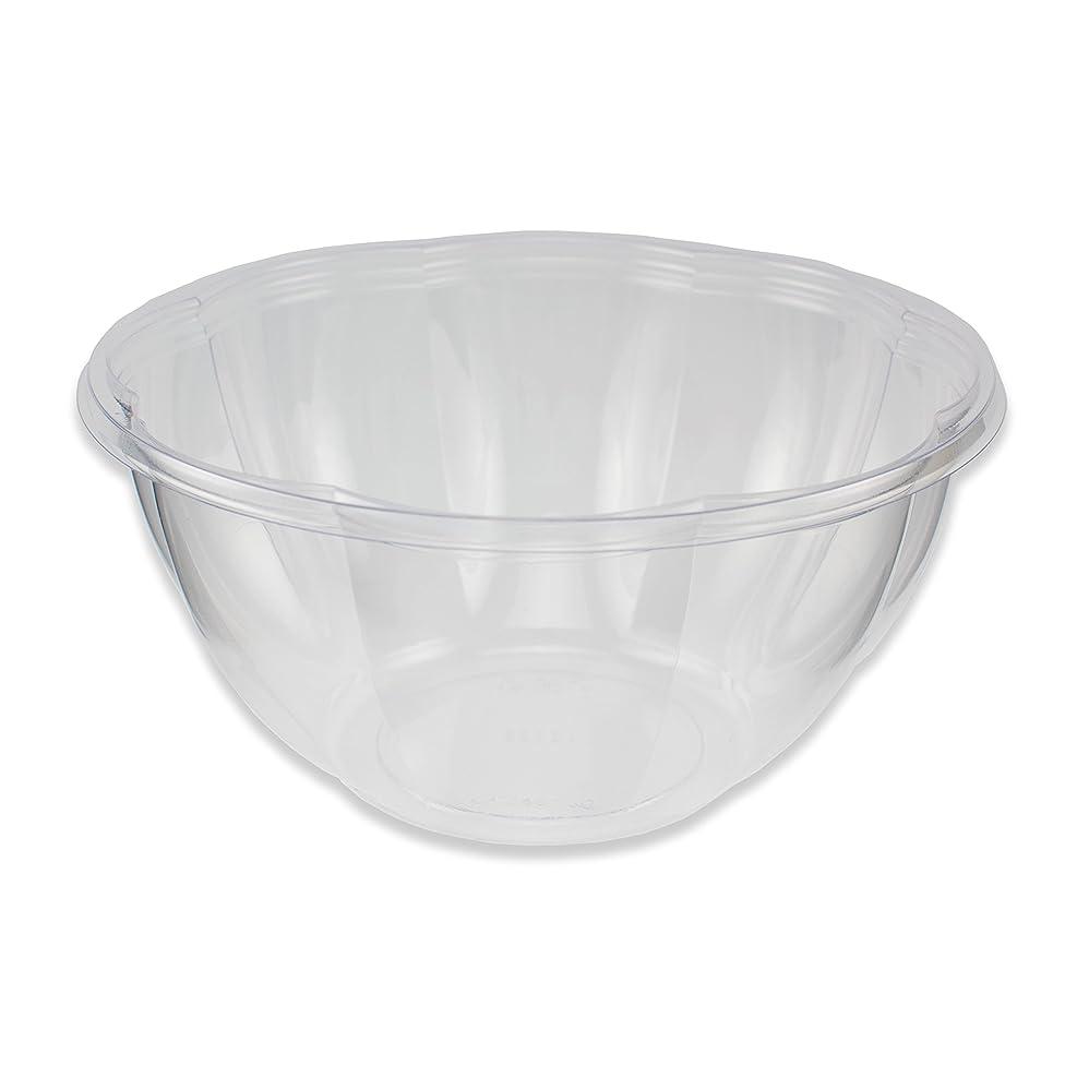 Jaya 100% Compostable Clear PLA Salad Bowl, 32-Ounce, 300-count case