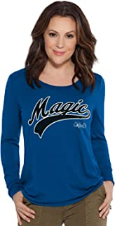 Touch by Alyssa Milano NBA Orlando Magic Adult Women Redzone Top, X-Large, Royal