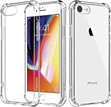 Best iphone 8 case clear silicone Reviews