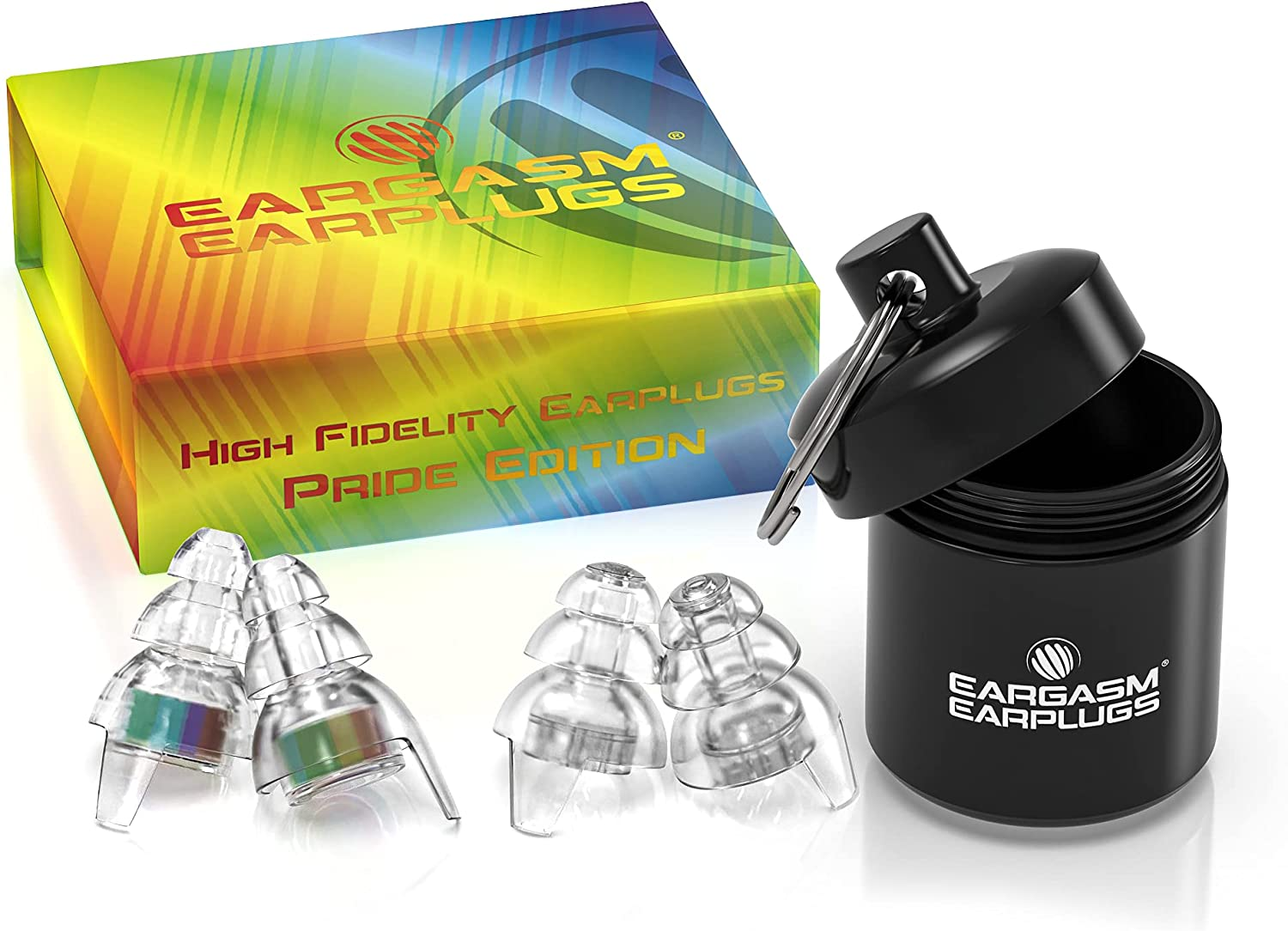 Eargasm High Fidelity Earplugs: Pride Edition C - Chicago Mall Your Show Low price True