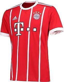 4b829e8e0f0455 adidas FC Bayern München Home Replica Jersey 2017/18, Maglietta Uomo