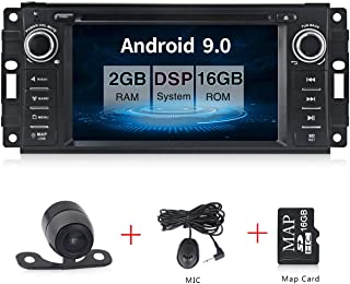 Android 9.0 Car Stereo CD DVD Player in Dash Car Radio Multimedia Player Navigation System with 6.2