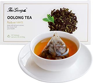 TeaYong Natural Green Tea Bags Decaf Caffeine FreeDecaffeinated Chinese Premium Classic Tea 30 Count (pack of 1) Natural G...
