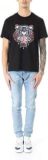 Kenzo Mens Tiger Face T-Shirt L Black