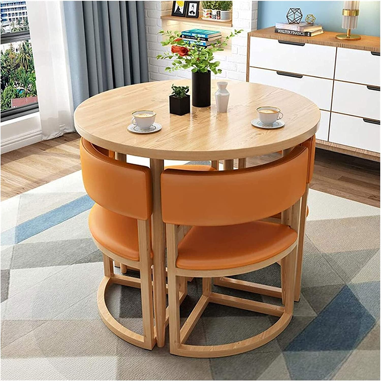 Farmhouse Style Dining Table Chair Combina Today's only Online limited product Set and