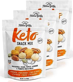 Nature's Garden Keto Snack Mix - Delicious & Fresh Flavor Natural Friendly Keto - Premium Quality, Perfect for Breakfast -...