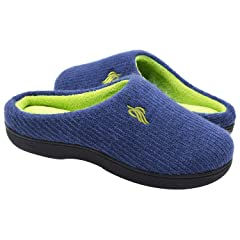 bac9bc24927f Wishcotton Men s Women s Memory Foam Anti-Slip Breathable Sli .