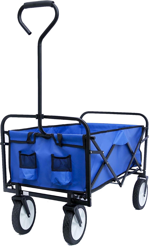 TangDun Utility Wagon El Paso Mall Picnic Excellent Camping Collapsible Cart Folding Ga