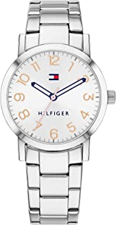 Tommy Hilfiger Women'S White Dial Stainless Steel Watch - 1782174