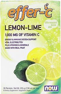 NOW Foods - Effer-C Lemon-Lime 30 Packet(s) (Pack of 2)