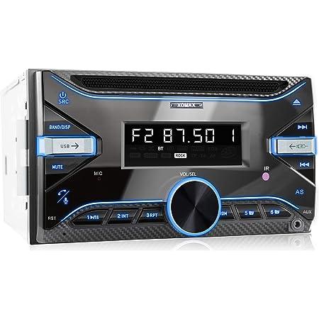 Xomax Xm 2cdb625 Autoradio Mit Elektronik
