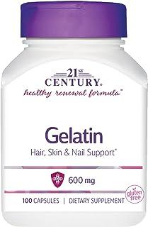 21st Century Gelatin 100 Capsules, 100-Count