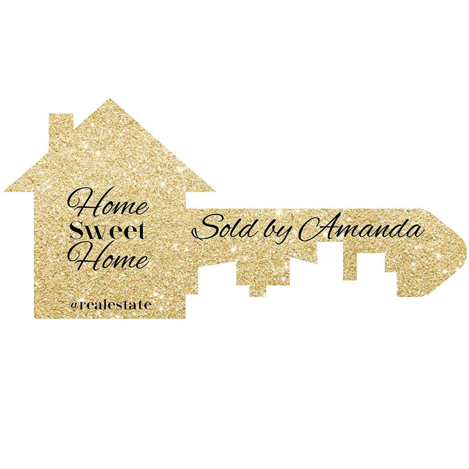 Realtor Photo Prop Sign Real Estate Signage Sold By Sign Homebuyer Client Sign Marketing Signage Home Buyer Prop Size 24x18