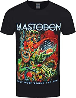 Mastodon Men's Once More Round The Sun T-Shirt Black
